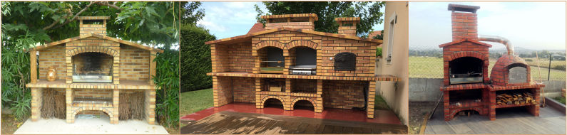 Mediterranean Brick Barbecue