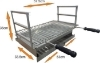 Picture of Stainless steel grill to embed 53x34 AC40F