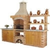 Picture of Online store Portuguese BBQ with sink CE8040F