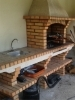 Picture of Brick BBQ with sink CE4030F